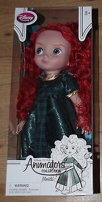 Disney Store Merida Doll Brave Animators Collection Toddler 16'' Discontinued 2