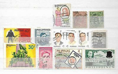 Philippines Small Collection Of Interesting Stamps  33161116