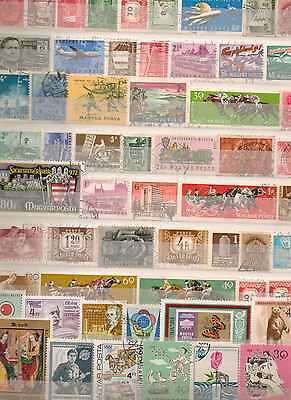 Hungary Magyar Posta Stamps Some Old Taken From Albums + Stockbooks 14130316