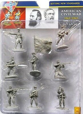Conte Collectibles American Civil War Confederate Infantry 54mm Soldiers Set 1