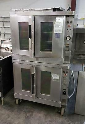 Hobart Double Stack Electric Convection Oven Model