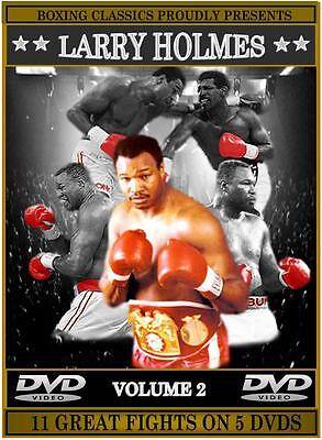 Larry Holmes Boxing DVD Career Collection (Vol.2)