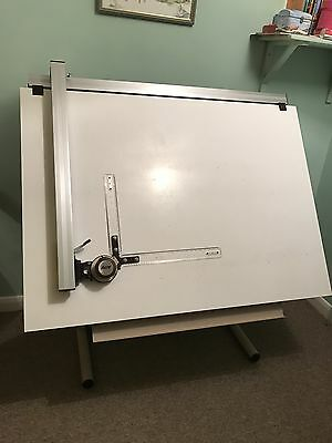 Artwright draftsman table drawing board with parallel motion and astar