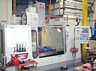 HAAS VF-3 CNC Vertical Machining Center Mill SIDE MOUNT TOOL CHANGER Cat 40 20 h