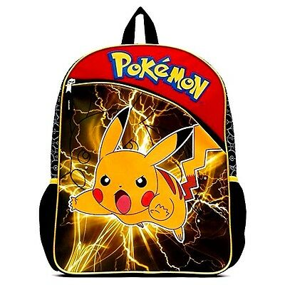 New Arrive Nintendo Pokemon Pikachu Flashing Lights Backpack