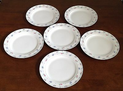 Lot Of 6 HARMONY HOUSE HALL MONTICELLO DINNER PLATES 10 3/8""