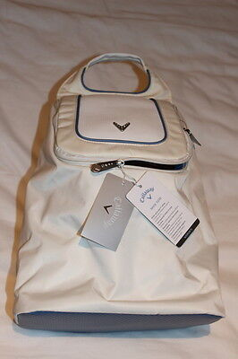 Genuine White Callaway Womens Shoe Tote Bag Msrp $35