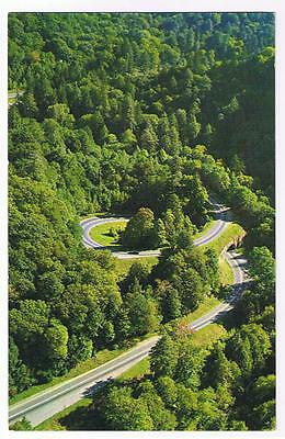 The Loop Over U.s. 441 Through The Great Smokey Mountains Park Postcard # Gs-215