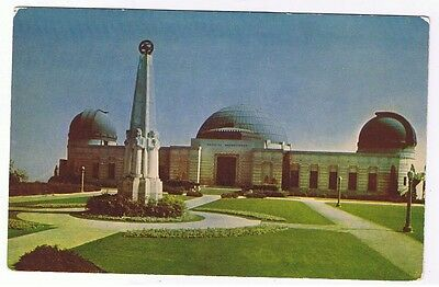 Griffith Observatory -  Los Angeles  - California - Postcard # C641