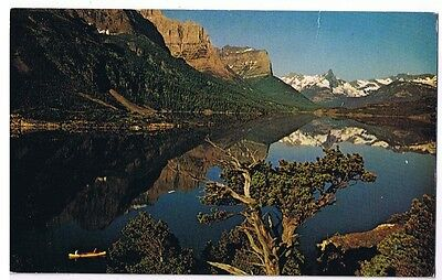 St. Mary Lake In Glacier National Park Montana Postcard # P-69278