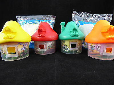 SMURFS The Lost Village McDonalds Toys x 6
