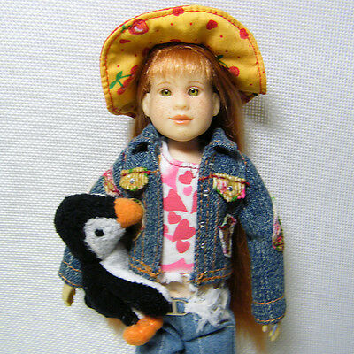 Only Hearts Club Lily Rose Doll with Waddles Penguin Pet 2004