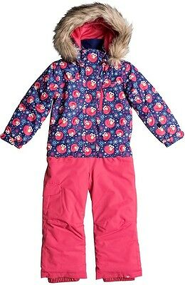 Roxy Paradise Girls/Infant Jumpsuit Snow Suit 4/5 Yrs Elmo