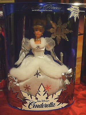 Holiday Princess Walt Disney's Cinderella 1996 Barbie Doll - Disney Store
