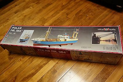 Billing Boats Polar NR. 584 Denmark Large 1:40 Model Kit Ship Boat