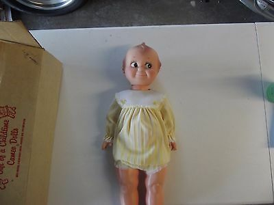 Cameo Kewpie Doll 28 inches Excellent with Box