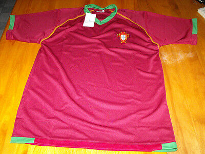 Portugal Football Soccer Jersey Size XL (NEW)
