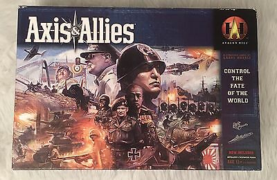 Avalon Hill Axis & Allies 100% Complete & Unpunched Board Game