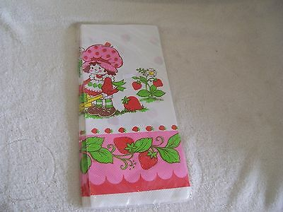 Vintage Strawberry Shortcake Tablecover American greetings