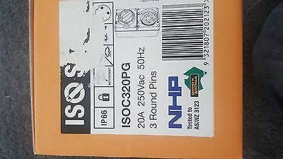 Nhp Isoc320Pg Single Phase 20A Combination Outlet 56 Series