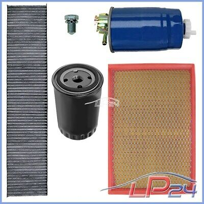 "Kit Revision Filtre À Huile Air Habitacle Diesel Gasoil ""b"" Vw Sharan 7M 1.9 Tdi"