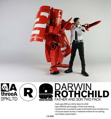 3A ThreeA WWR Rothchild Father and Son Figures (New Sealed)