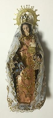"Virgen Del Carmen Statue Our Lady Of Mount Carmel 12"" Inch Statue Free Shipp"
