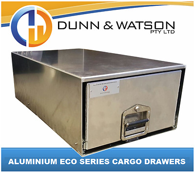 ECO Series Aluminium Cargo Drawer (500mm W x 300mm H) 4wd, 4x4, vehicle