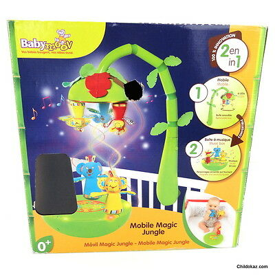 "Mobile ""Magic Jungle""  2en 1 ! 100% innovation de BABYMOOV"