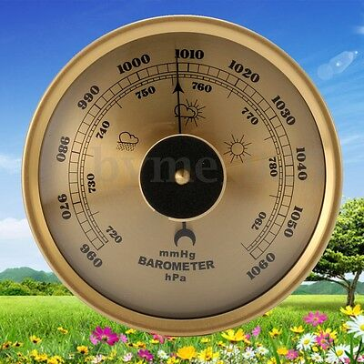 Alloy Vintage Style 960~1060hPa Barometer Weather Mechanical for Fishing Outdoor