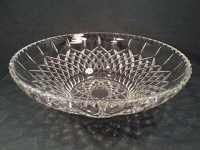 Stunning Large Crystal Glass Dish/Bowl (ref W994)