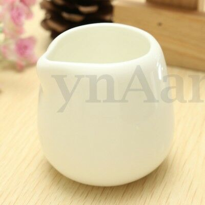 50ml Small Ceramic Porcelain Caffe Nero Milk Coffee Cream Sauce Tot Pouring Jug