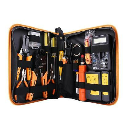 Network Ethernet Cabling Hand Tools Kit Cable Tester Crimp Simple and practic