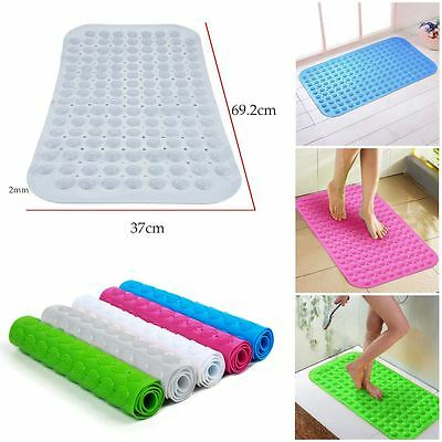 Large Strong Suction Anti Non Slip Bathroom Shower Mat Bath Foot Massage Quality