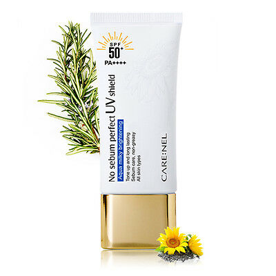 [CARENEL] No Sebum Perfect UV shield 50ml (SPF50+/PA++++) - BEST Korea Cosmetic