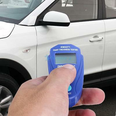 UK Car Painting Thickness Tester Paint Meter Digital LCD Coating Thickness Gauge
