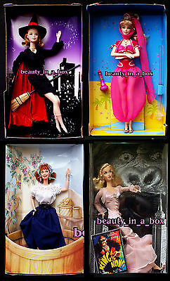 """Bewitched Barbie Doll I Love Lucy Italy That Girl King Kong Faye Wray NO BOX 4"""""""