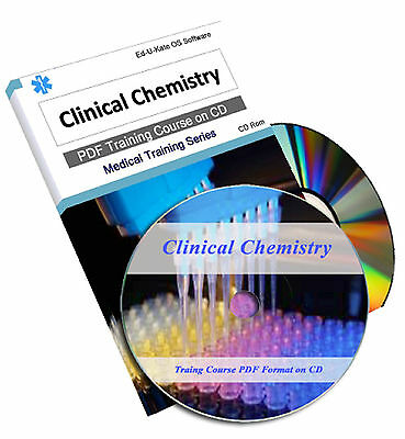 Clinical Chemistry Medical Laboratory Lab Organic Training Course CD Book 101