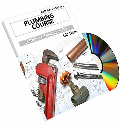 Plumbing Plumbers How To Training Course Pipefitting Heating Engineer CD Book