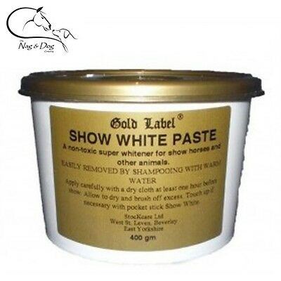 Gold Label Show White Paste, Spray, Powder  Grooming Products - FREE DELIVERY