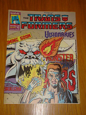 Transformers British Weekly #190 Marvel Uk Comic 1988