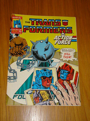 Transformers British Weekly #192 Marvel Uk Comic 1988