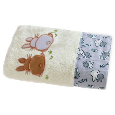 Cotton Bath Newborn Cartoon Rabbit  Wrap Bathing Cloth Print Beach Towels UK