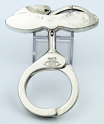 Pratt Combination Handcuffs 1st. model variation 1916