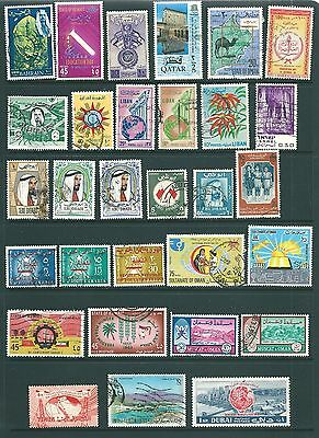 MIDDLE EAST - Useful stamp collection including obsolete countries