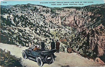 Postcard-Vintage Vehicles.cave Of The Winds.u.s.a.
