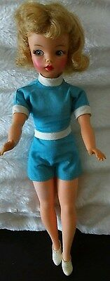 Gorgeous 1962 Vintage Ideal Tammy Doll In Original Clothes. Reduced!!!!