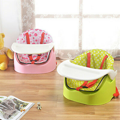 Baby Feed Seat Booster Travel Chair Eat Meal Comfort Adjust Safety Feeding Chair