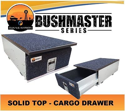 Bushmaster Cargo Drawer (500mm W x 275mm H) 4wd, 4x4, Vehicle, System