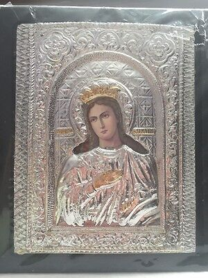 Icon Of The Virgin Mary (hand made)